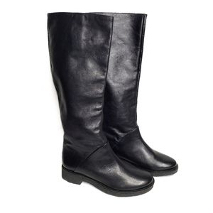 DIANE VON FURSTENBERG Ainsley Tall Leather Boots